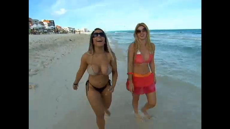 Val Marchiori e Mulher Melão mostram a vida no Caribe no ...