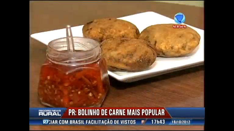 Aprenda receita do bolinho de carne mais popular de Londrina (PR ...