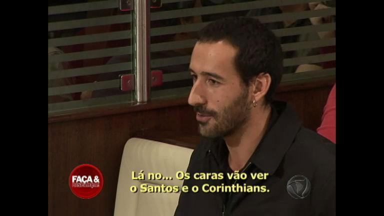 João é o primeiro português a participar do Faça & Disfarça - Rede ...
