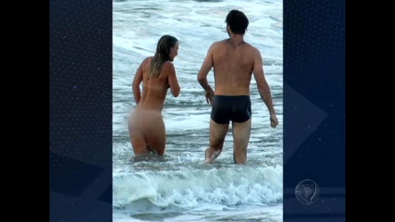 Polêmica: turista fica completamente nua em praia do Rio de Janeiro