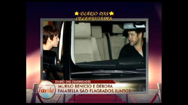 Diário das Celebridades: Murilo Benício e Débora Falabella são ...