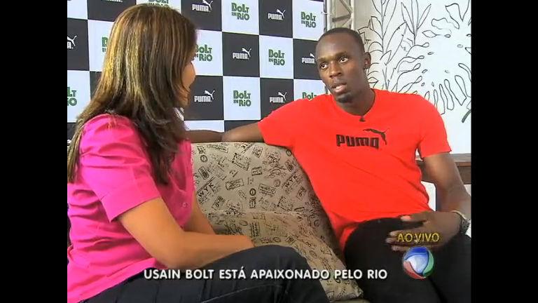 Veja a entrevista exclusiva de Usain Bolt para a Record - Rio de ...