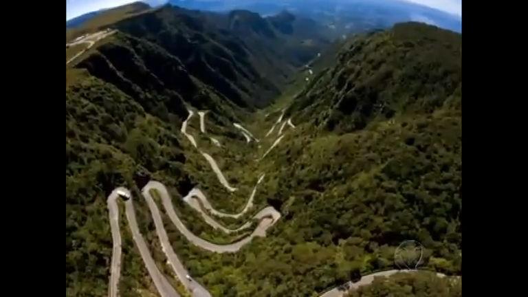 Estrada no Sul do País é eleita a mais assombrosa do mundo ...