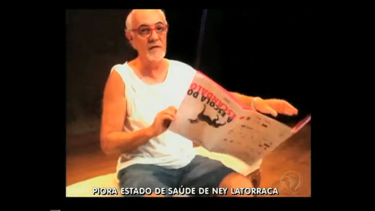 Piora estado de saúde de Ney Latorraca internado no Rio - Rio de ...