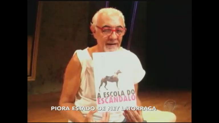 Piora o estado de saúde de Ney Latorraca - Notícias - R7 Fala Brasil