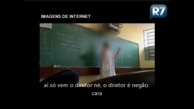 Professora fala palavrões e desafia aluno em sala de aula e vídeo é ...