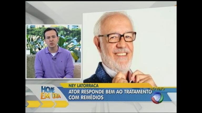 Ney Latorraca apresenta melhora no quadro clínico ...