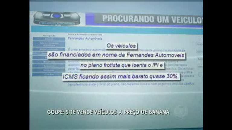 Cuidado com o golpe: site vende carros a preço de banana - Distrito ...