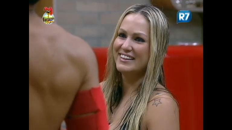Ísis Gomes aceita convite de Rodrigo Carril para dormirem juntos ...