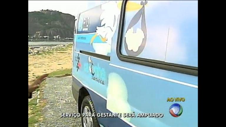 """Projeto """" Cegonha Carioca"""" amplia número de ambulâncias para ..."""