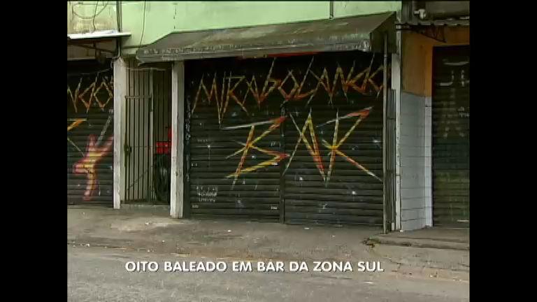 Violência em SP: oito pessoas são baleadas em bar na zona sul da ...