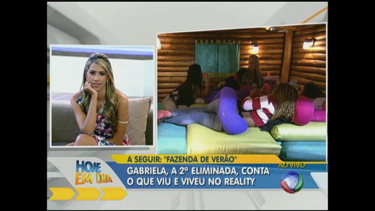 Gabriela Novaes conta o que viu e viveu na Fazenda de Verão ...