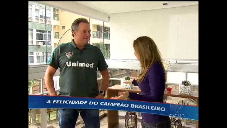 Campeão brasileiro, Abel Braga abre as portas de casa para o ...