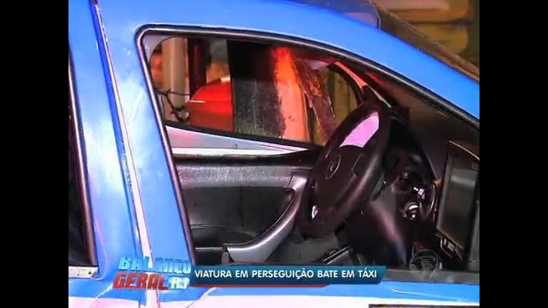 Viatura em perseguição bate em taxi em Botafogo ( RJ) - Rio de ...