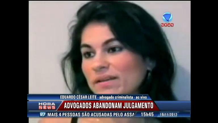 Advogados abandonam julgamento do caso Bruno - Record News ...