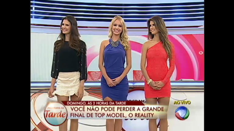 Finalistas de Top Model, O Reality mostram beleza e simpatia no ...