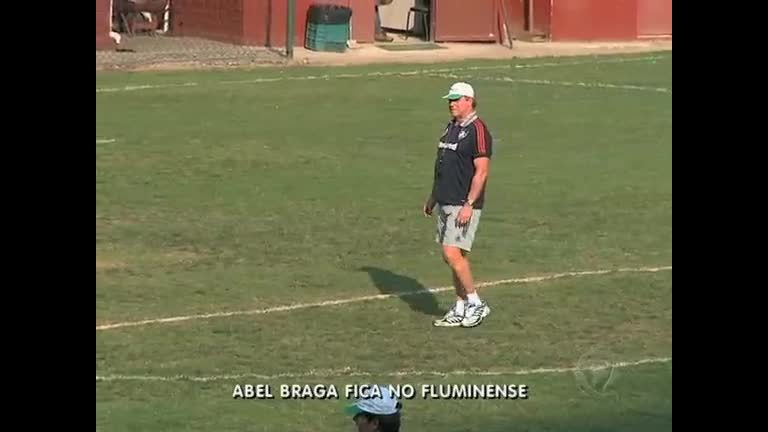 Abel Braga renova contrato com Fluminense - Rio de Janeiro - R7 ...