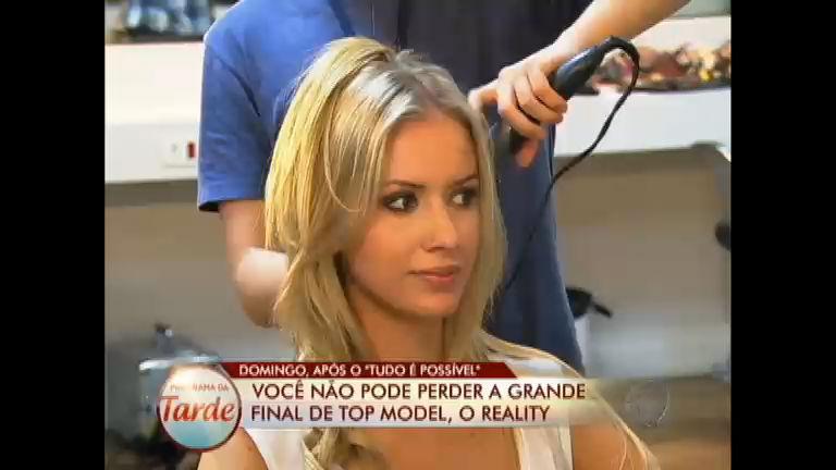 Finalistas se preparam para a decisão de Top Model, o Reality ...