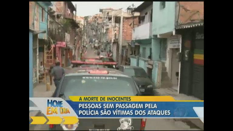Violência em SP atinge vários inocentes - Entretenimento - R7 Hoje ...