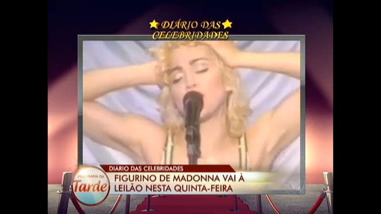 Diário das Celebridades: figurino de Madonna vai à leilão ...