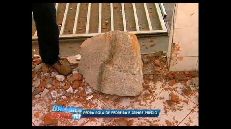 Pedra de 100 kg atinge churrasqueira de prédio em Botafogo ( RJ ...