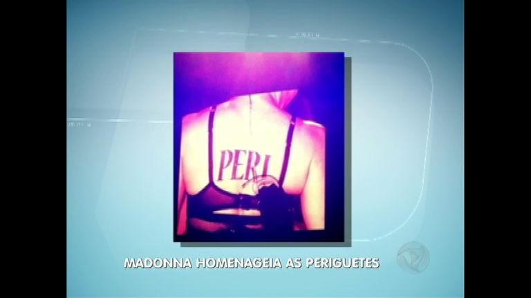 """Madonna faz """"tatuagem"""" em homenagem às periguetes brasileiras ..."""