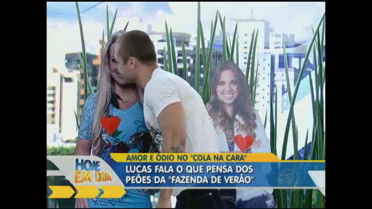 Lucas se declara apaixonado por Ísis - Entretenimento - R7 Hoje em ...