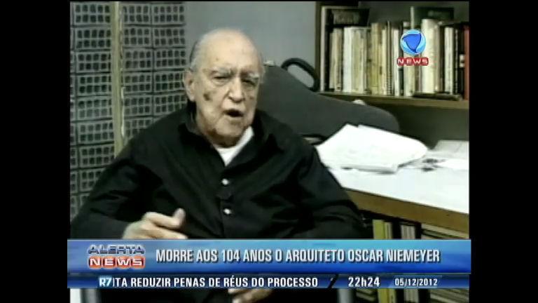 Morre aos 104 anos o arquiteto Oscar Niemeyer - Notícias - R7 ...