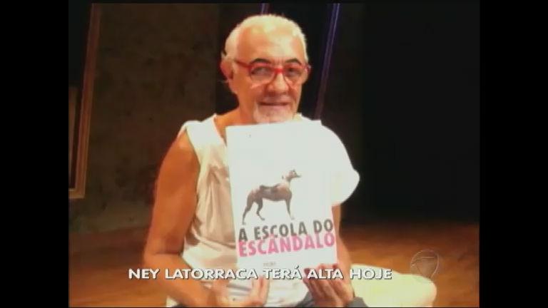 Ator Ney Latorraca terá alta do hospital - Rede Record