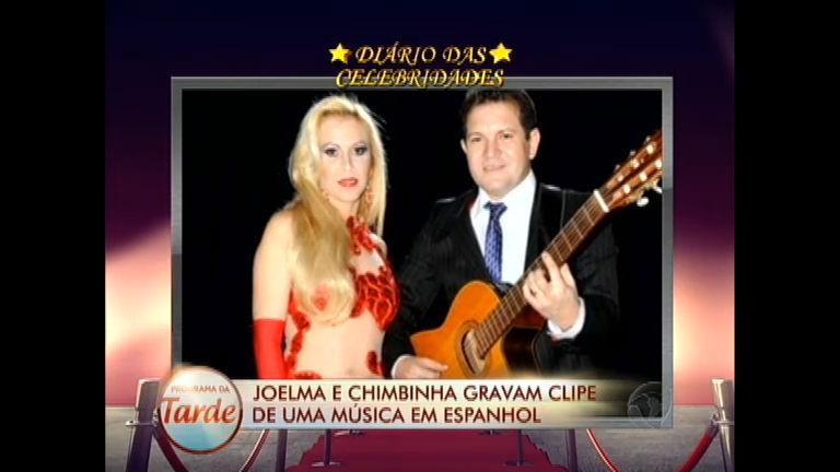 Diário das Celebridades: Joelma e Chimbinha gravam música em ...