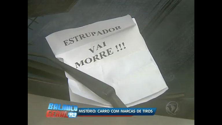 Carro é encontrado com marcas de tiro em Santa Teresa ( RJ) - Rio ...