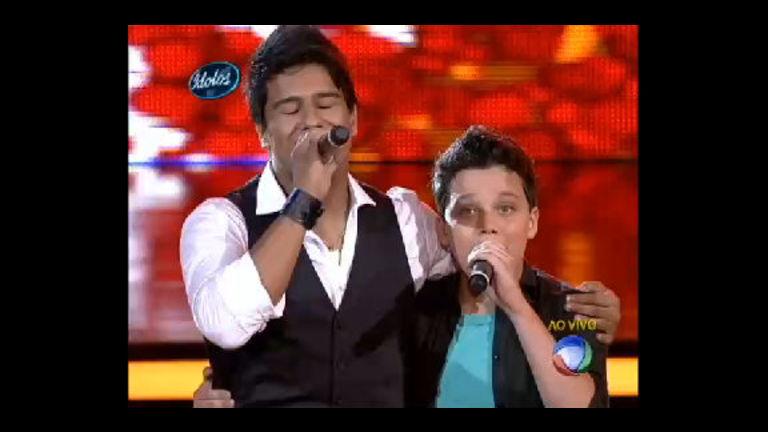 Leonardo Cavalcante canta com Fernando Cavelanha, o vencedor ...