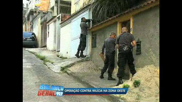Divisão de homicídios do Rio faz operação contra milícia - Rio de ...