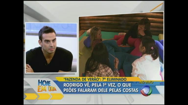 Rodrigo Carril diz que não respeita quem desiste - Rede Record