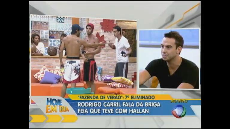 Rodrigo Carril encara perguntas indiscretas de blogueiros - Rede ...