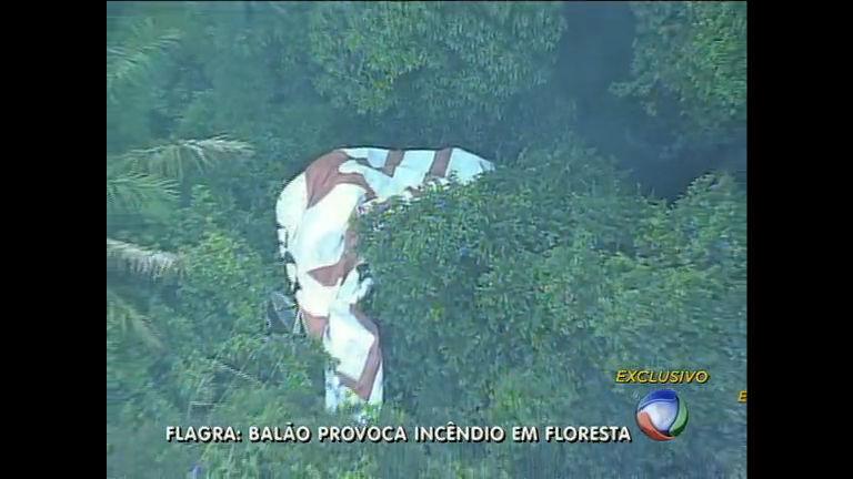 Balão cai e causa incêndio na floresta da Tijuca (RJ) - Rio de ...