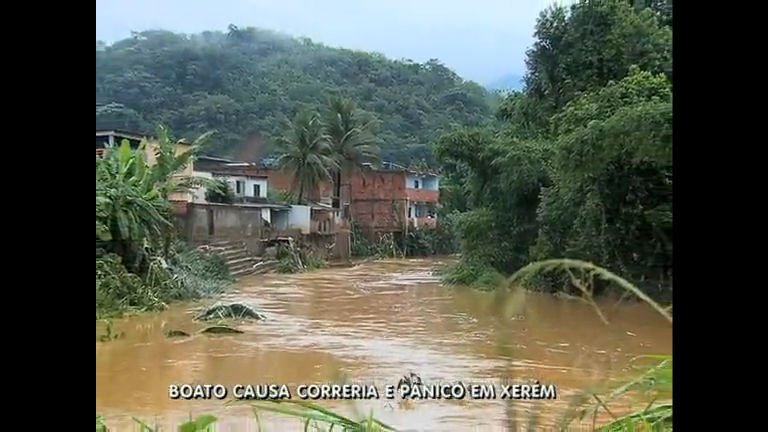 Boato de rompimento de represa causa pânico em Xerém (RJ) - Rio ...