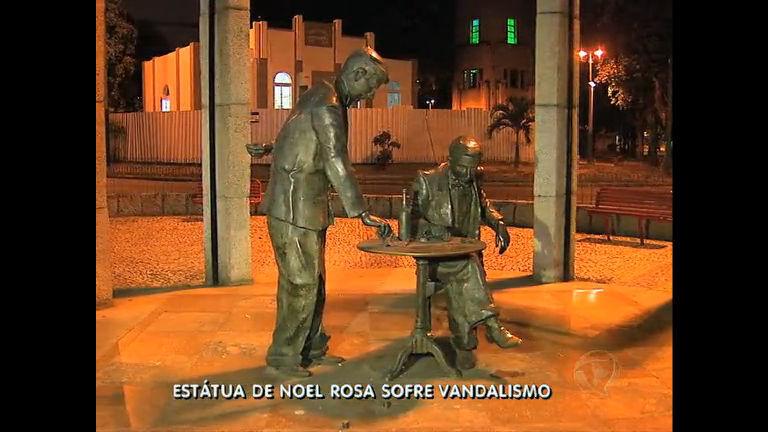 Estátua de Noel Rosa é depredada em Vila Isabel (RJ) - Rio de ...