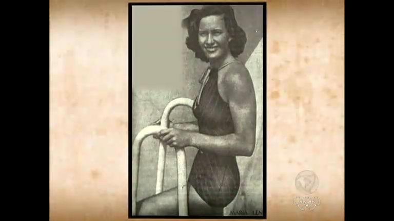 Memória do Esporte Brasileiro: Maria Lenk aprendeu a nadar no rio ...
