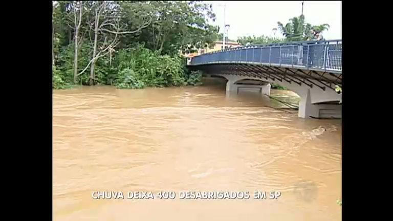 Chuva deixa ao menos 400 desabrigados em São Luiz do ...