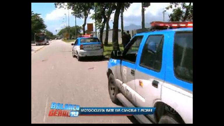 Motociclista morre em acidente na Ilha do Fundão (RJ) - Rio de ...