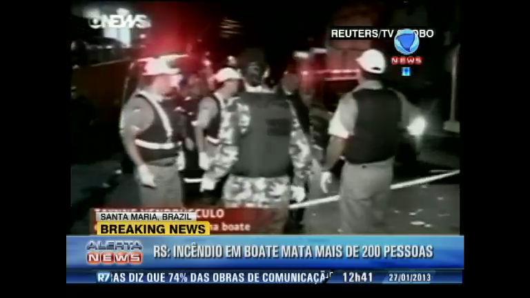 Número de mortos em incêndio de Santa Maria chega a 245 ...