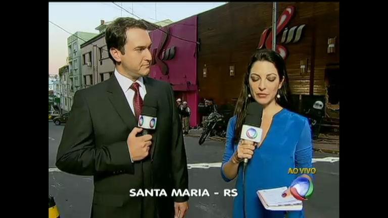 Ana Paula Padrão e Eduardo Ribeiro apresentam jornal de Santa ...
