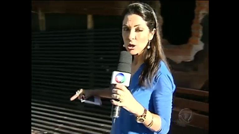 Ana Paula Padrão entra nos escombros da boate Kiss, em Santa ...