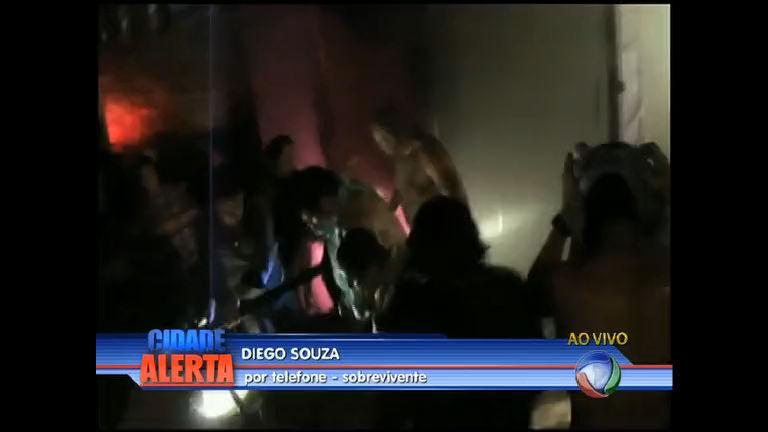 Sobrevivente da tragédia de Santa Maria fala com o Cidade Alerta ...
