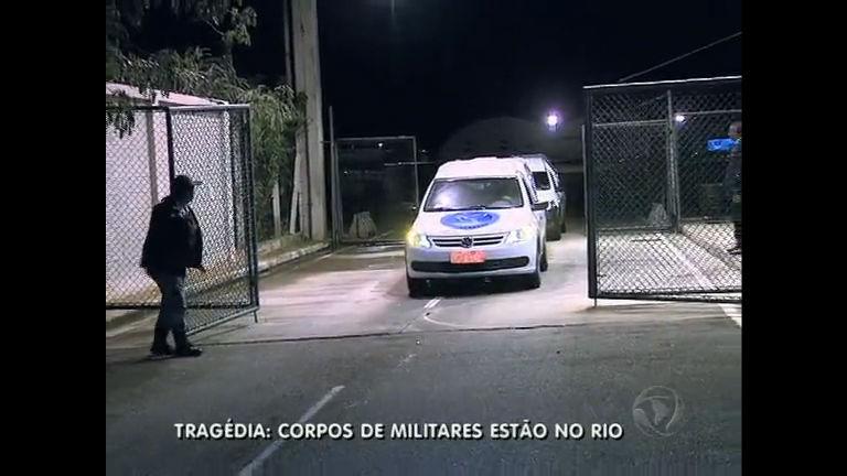 Corpos de militares mortos na tragédia em Santa Maria já estão no ...