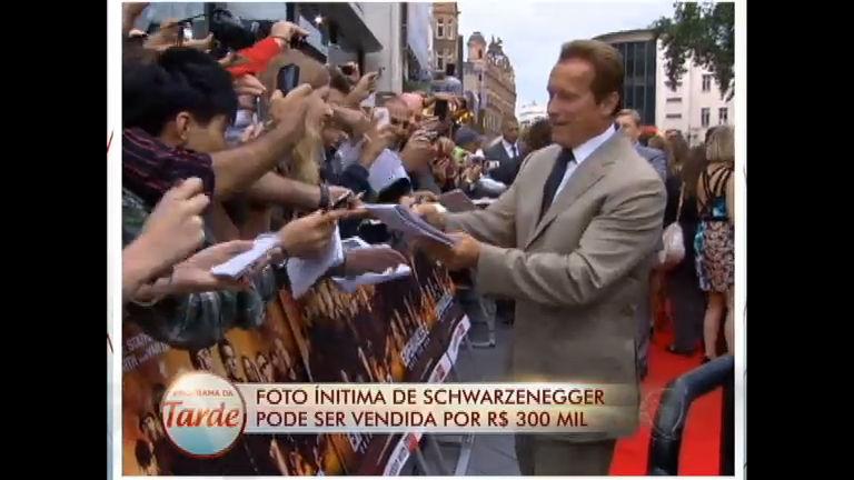 Site pornô quer comprar foto de Arnold Schwarzenegger por R$ 300 ...