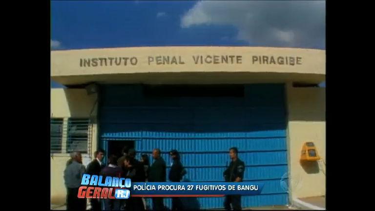 Polícia procura 31 fugitivos do presídio de Bangu (RJ) - Rio de ...