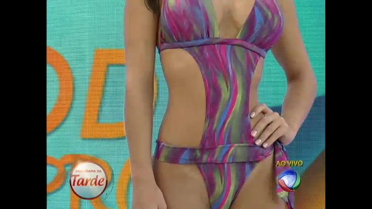 Maiô volta com tudo e é tendência para a moda praia e também fora ...