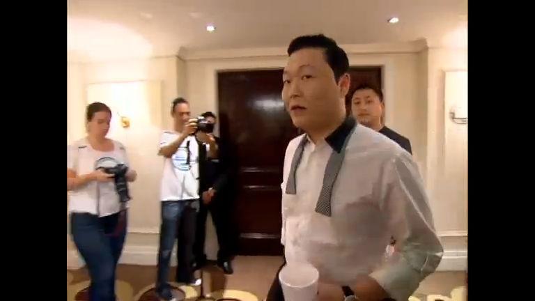 Exclusivo: Psy se rende ao axé e diz que ficou encantado com as ...